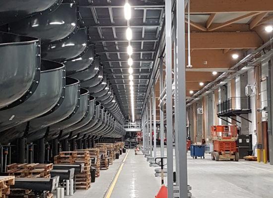 VEKO lighsystems industriele verlichting TNT LED lijnverlichthing lumen lux 4000k