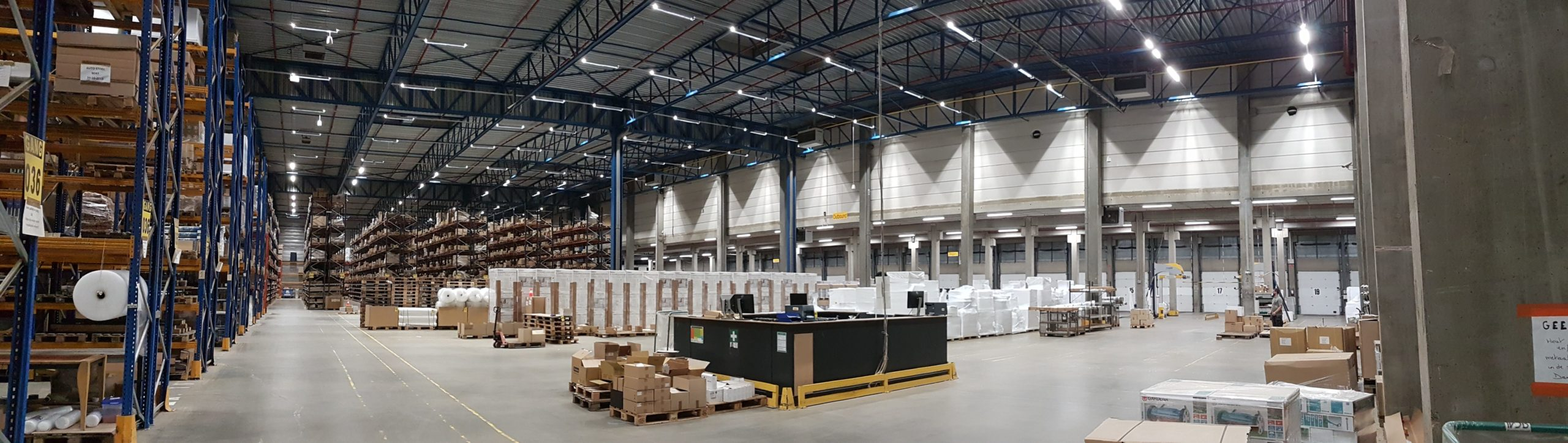 VEKO lighsystems industriele verlichting TNT LED lijnverlichthing lumen lux 4000k gripple