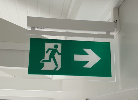 ETAP evacuatieverlichting in Woonzorgcentrum
